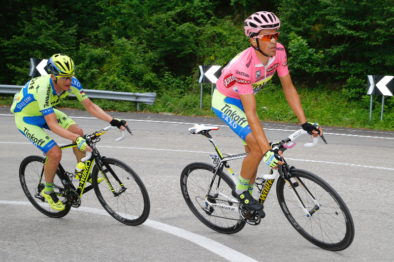 e631c0274 Alberto Contador fends off attacks on the path to recovery at Giro d ...